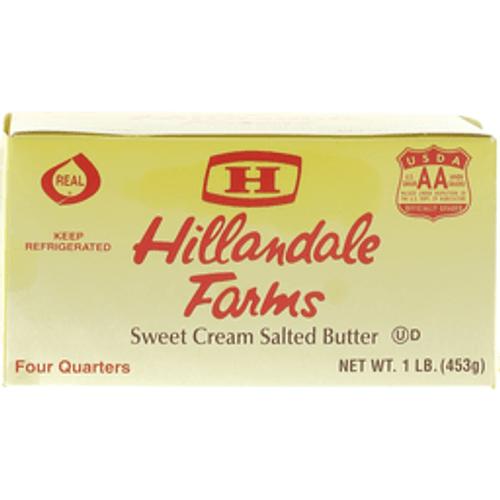 Sweet Cream Salted Butter 1 Lb. (4 Sticks) Hillandale Farms