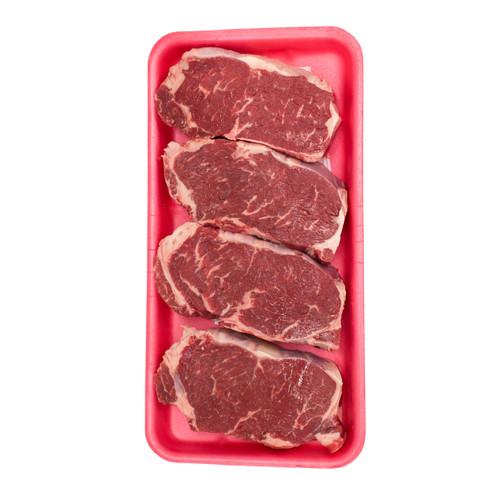 N.Y. Strip Steaks
