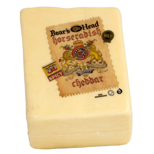 Bold Horseradish Cheddar Boar's Head (1/2 Lb.)