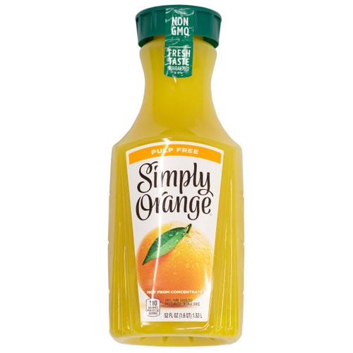 Simply Orange Orange Juice 52 Oz.
