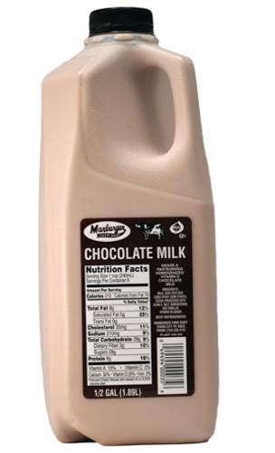 1/2 Gallon Chocolate Milk Marburger