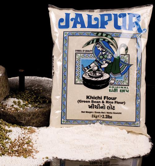 Jalpur Green Moong Bean & Rice Flour (Khichi Flour)