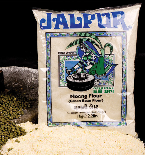 Jalpur Green Moong Bean Flour (moong flour)