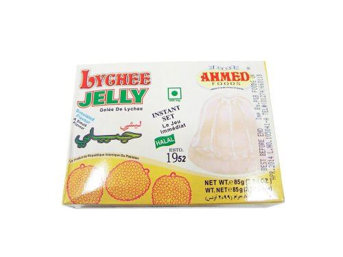Ahmed Lychee Jelly (Vegetarian) - 85g x 3