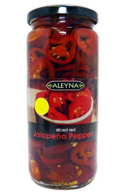 Aleyna - Sliced Red Jalapenos - 480g