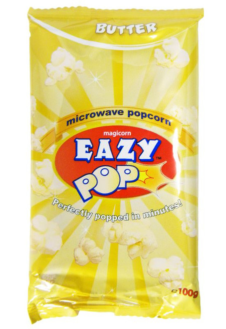 Eazy Pop - Butter Popcorn - 100g (Pack of 2)