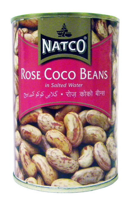 Natco - Rose Coco Beans - 400g (pack of 2)