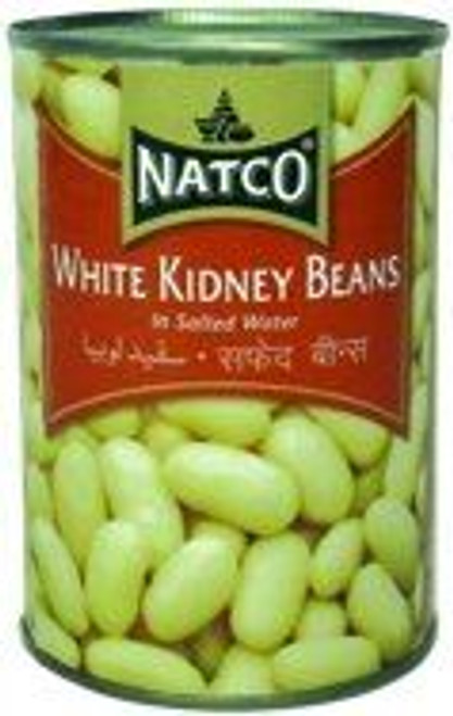 Natco White Kidney Beans in Salted Water Pack of 2