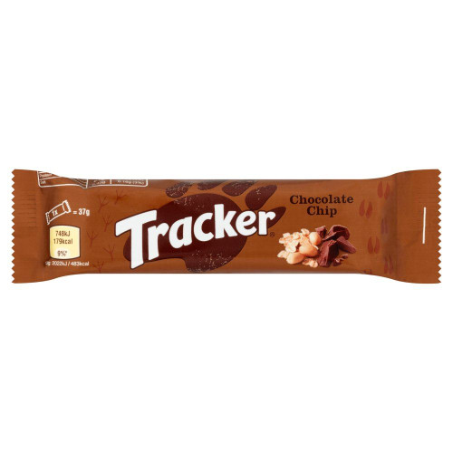 Tracker Chocolate Chip Cereal Bar - 37g - Pack of 3 (37g x 3)