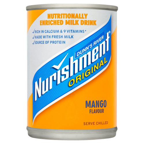 Dunn's River Nurishment Mango Flavour - 400g - Single Can (400g x 1 Can)