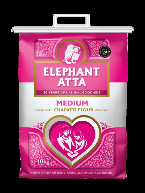 Elephant Atta Medium Chapatti Flour - 10kg