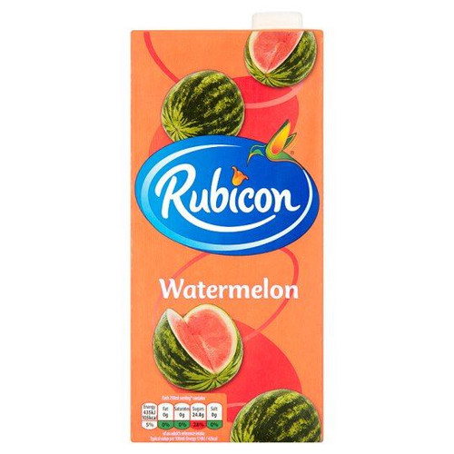 Rubicon Watermelon - 1ltr - Single Box (1ltr x 1)