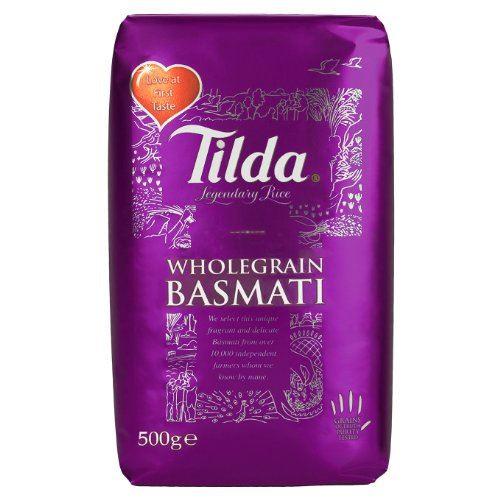 Tilda Wholegrain Basmati Rice - 500g