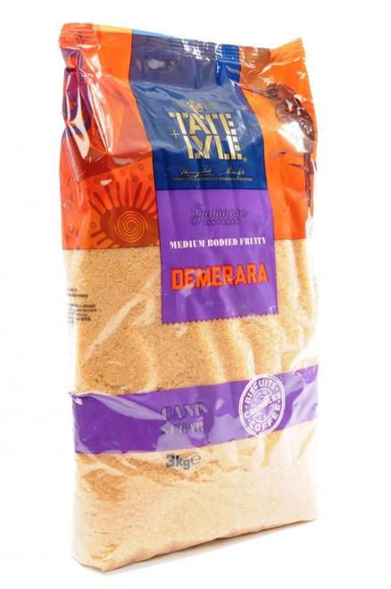 Tate & Lyle Demerara Sugar - 3kg