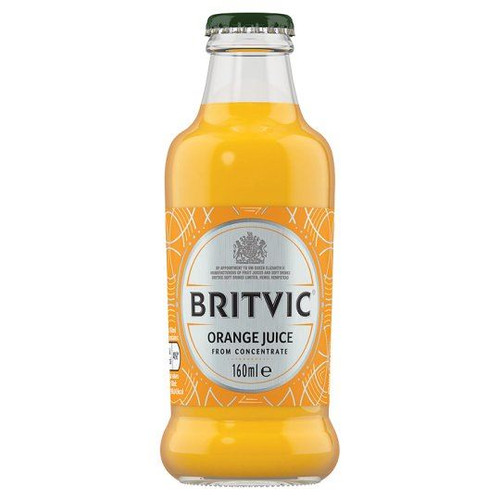 Britvic Orange Juice - 160ml - Pack of 3 (160ml x 3 Bottles)