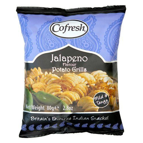 Cofresh Jalapeno Potato Grills -1 x 80g