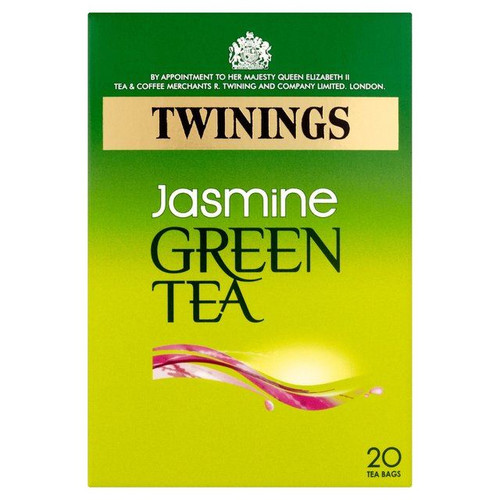 Twinings Jasmine Green Tea - 20s - Pack of 4 (20s x 4)