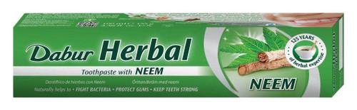 Dabur Herbal Toothpast Neem 3 Pack - 100g