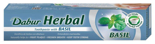 Dabur Herbal Toothpaste Basil - 100g