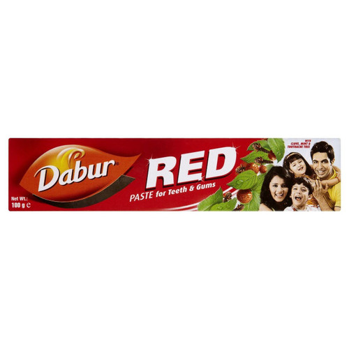 Dabur Herbal Toothpaste Red Pack of 3 - 100g