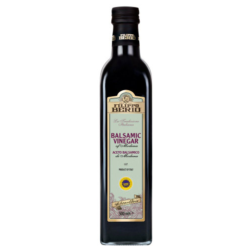 Filippo Berio Balsamic Vinegar - 500ml - Pack of 2 (500ml x 2)
