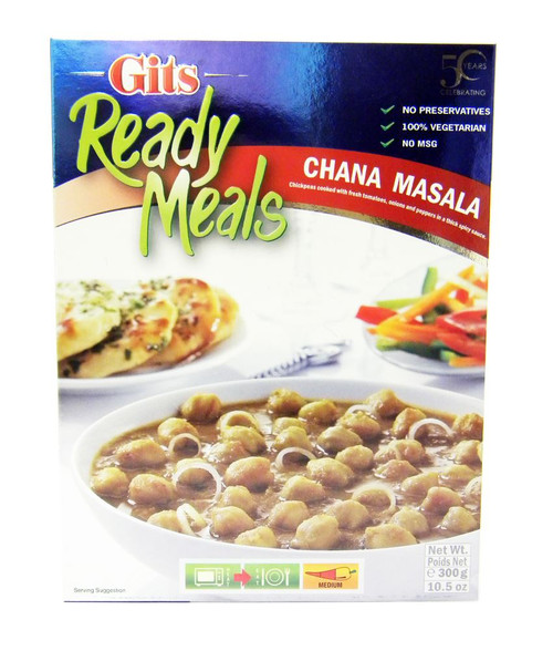 Gits - Ready Meals - Chana Masala - 300g (pack of 2)