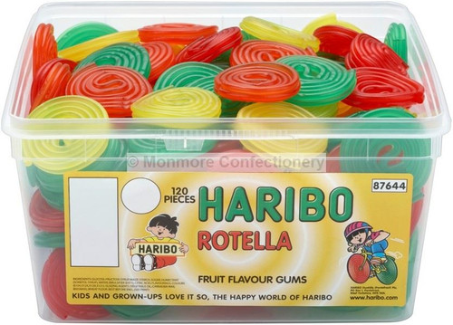 Haribo Rotella - 960g - Approx 120 Pieces