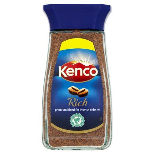 Kenco Freeze Dried Rich Dark Roast - 100g - Pack of 4 (100g x 4)