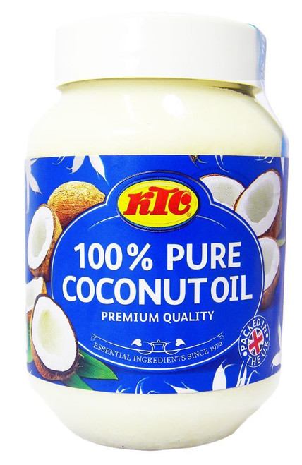 KTC 100% Pure Coconut Multipurpose Oil 500ml Jar x 6 Qty (pack of 6)