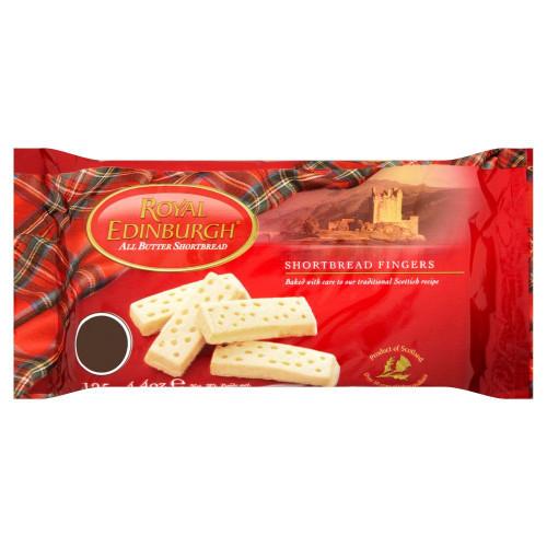 Royal Edinburgh Shortbread - 125g - Pack of 4 (125g x 4)