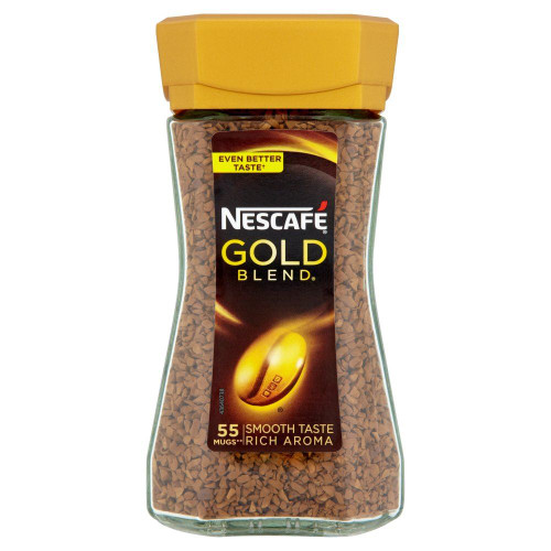 Nescafe Gold Blend Instant Coffee - 100g - Pack of 2 (100g x 2)