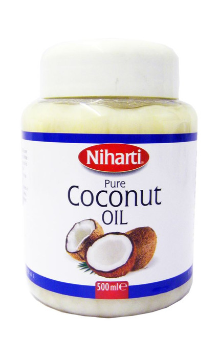 Niharti - Pure Coconut Oil - 500ml (pack of 2)