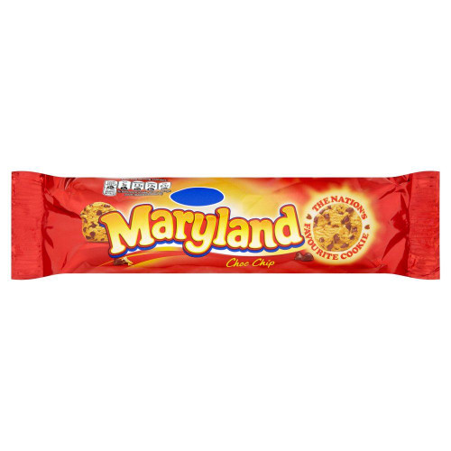 Maryland Chocolate Chip Cookies - 145g - Pack of 4 (145g x 4)