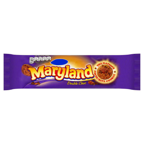 Maryland Double Chocolate Cookies - 145g - Pack of 4 (145g x 4)