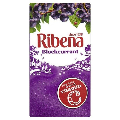 Ribena Blackcurrant - 288ml - Pack of 3 (288ml x 3)