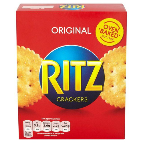 Ritz Orignal Crackers - 200g - Pack of 4 (200g x 4)