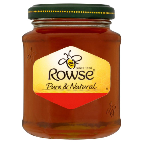 Rowse Clear Honey - 250g - Pack of 2 (250g x 2)