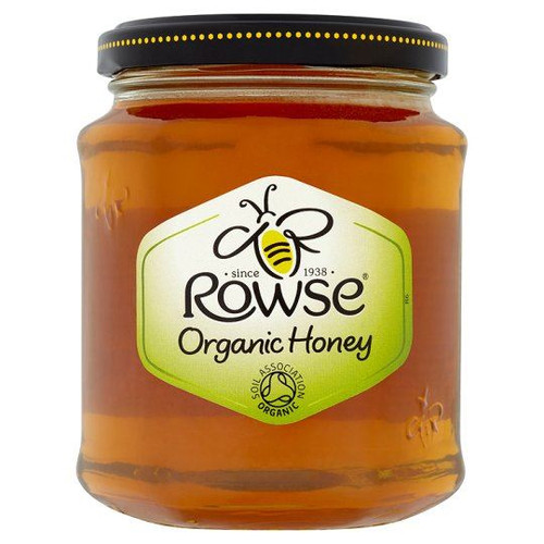 Rowse Organic Honey Clear - 340g - Pack of 2 (340g x 2)