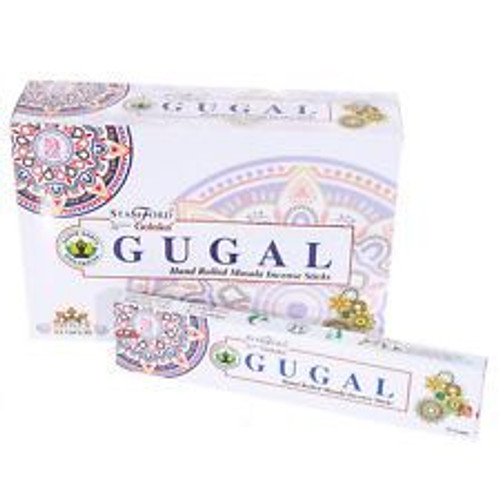Stamford Goloka - Gugal Masala Incense Sticks - 15g each (Pack of 12)