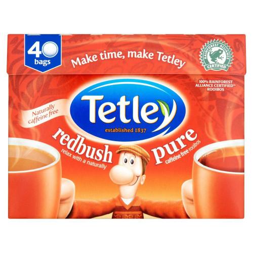 Tetley Pure Redush Tea Bags - 40's - Pack of 2 (40's x 2)