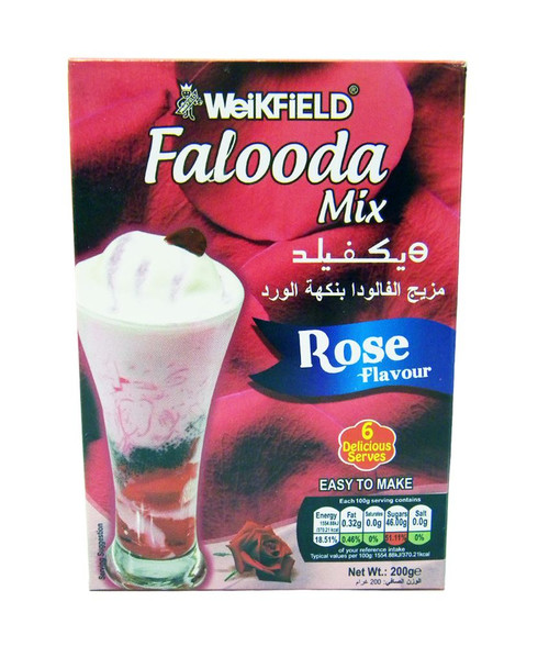 Weikfield - Falooda Mix - Rose Flavour - 200g x 2