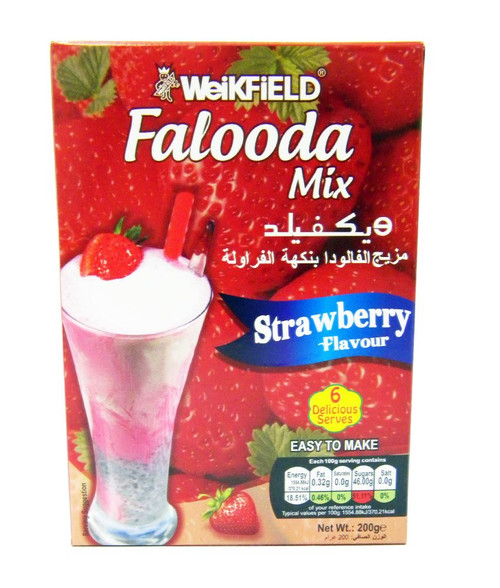 Weikfield - Falooda Mix - Strawberry Flavour - 200g x 2