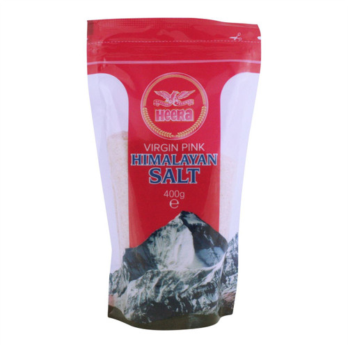 Heera - Himalayan Virgin Pink Salt - 400g (Pack of 2)