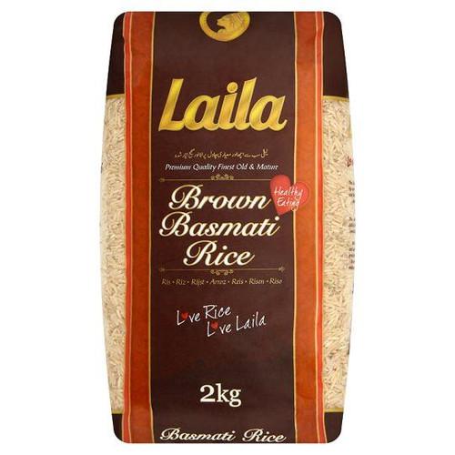 Laila - Brown Basmati Rice - 2kg