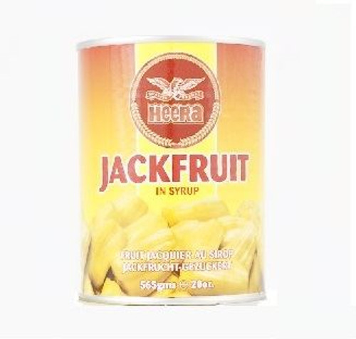 Heera - Jackfruit in Syrup - 565g (Pack of 2)