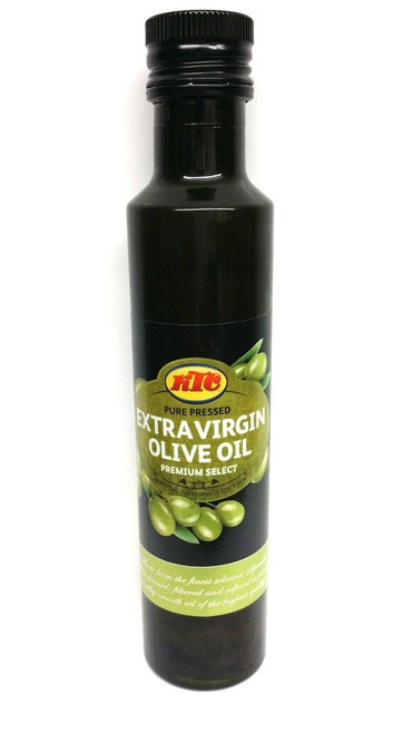 KTC - Pure Pressed Extra Virgin Olive Oil - 1Ltr (Pack of 2)