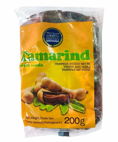 Heera - Tamarind with Seeds - 200g (Pack of 2)