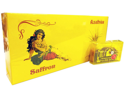 Pure Spanish Saffron (Azafran) - 4g (Pack of 12)