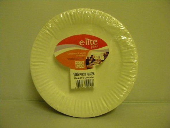 100 Party Plates