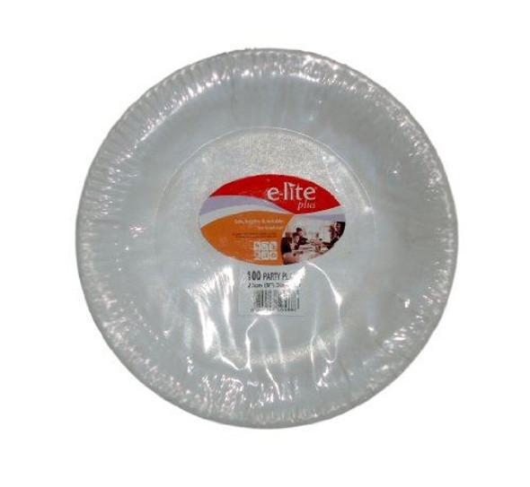 """100 x 9"""" (23Cm) diameter Party Paper Plates"""